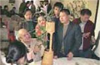 いけ花で中国と交流