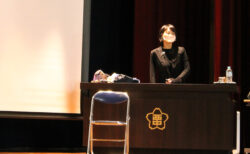 西春中学校で生き方講演会